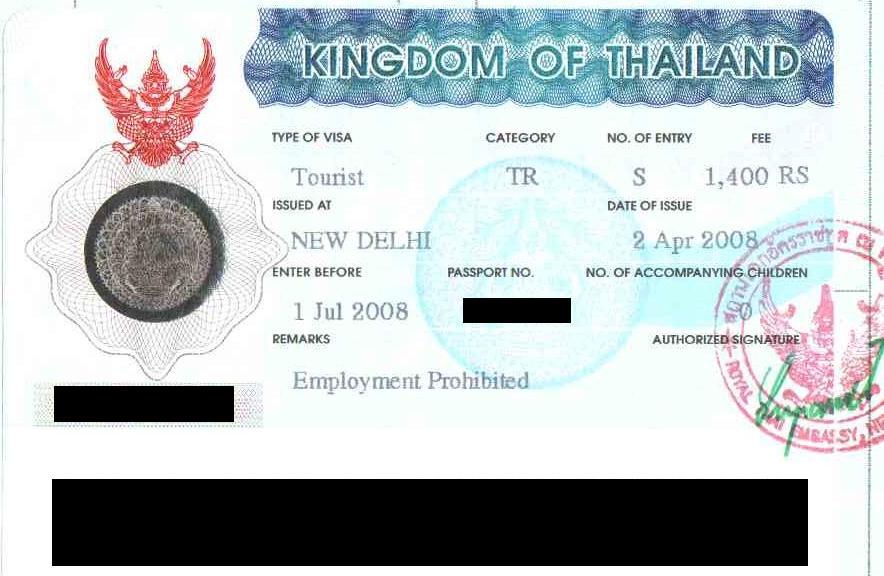 روادید کشور تایلند